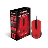 MSI CLUTCH GM40 Wired Gaming Mouse (Red)