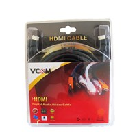 VCOM HDMI 1.4 (M) to HDMI 1.4 (M) 3m Black Retail Packaged Display Cable