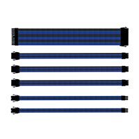 Cooler Master Sleeved Extension Cable Kit (Blue and Black)