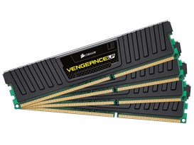 Corsair Vengeance LP 32GB (4x 8GB) 1600MHz DDR3