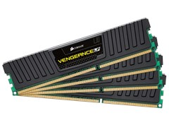 Corsair Vengeance Low Profile 32GB (4 x 8GB) Memory Kit PC3-12800 1600MHz DDR3 DIMM Unbuffered