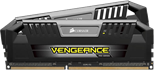 Corsair Vengeance Pro 8GB (2 x 4GB) Memory Kit PC3-19200 2400MHz DDR3 DRAM Unbuffered (Silver)