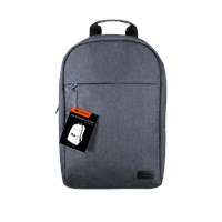 Canyon Super Slim Backpack for 15.6 Laptops in Grey