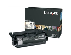 Lexmark High Yield Print Cartridge Corporate (Yield 25,000 Pages) for T65x
