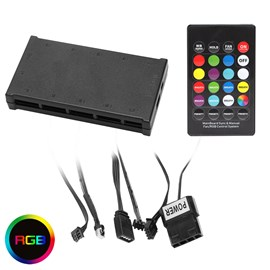 Generic RGB Fan Controller with Remote - Aura Compatible