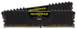 Corsair Vengeance LPX 16GB (2 x 8GB) Memory Kit PC4-25600 3200MHz DDR4 DIMM C16 (Black) *Open Box*