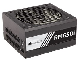 Corsair RMi Series 650W Modular 80+ Gold PSU