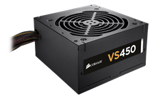 Corsair VS Series VS450 450W 80+ PSU
