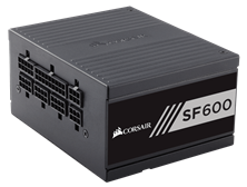 Corsair SF600 600W Modular 80+ Gold PSU
