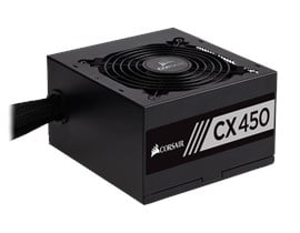 Corsair CX450 450W 80+ Bronze PSU