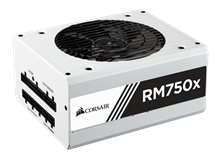 Corsair RM750x White 750W Modular 80+ Gold PSU