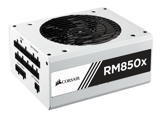 Corsair RM850x White 850W Modular 80+ Gold PSU
