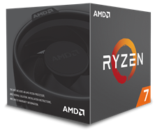 AMD Ryzen 7 1700 3.0GHz Octa Core (Socket AM4) CPU
