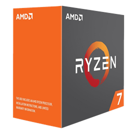 AMD Ryzen 7 1800X 3.6GHz Octa Core (Socket AM4)
