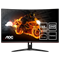 AOC CQ32G1 31.5 inch 144Hz 1ms Gaming Curved Monitor - 2560 x 1440