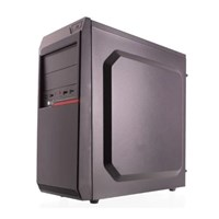 Riotoro CR100BE Mid Tower Case - Black USB 3.0