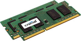 Crucial for Apple Mac 8GB (2x 4GB) 1066MHz DDR3