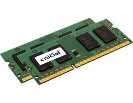 Crucial for Apple Mac 4GB (2x 2GB) 1066MHz DDR3