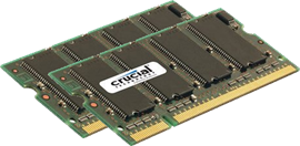 Crucial for Apple Mac 4GB (2x 2GB) 800MHz DDR2