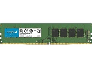 Crucial 8GB Memory Module PC4-19200 2400MHz DDR4 Unbuffered Non-ECC CL17 DIMM (Single Ranked)