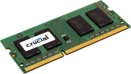 Crucial for Apple Mac 8GB (1x 8GB) 1600MHz DDR3