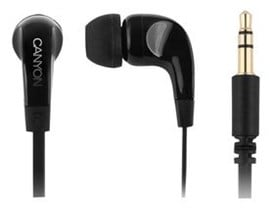 Canyon Essential Stereo Earphones Black CEP2B