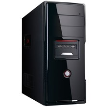 CiT 2206 Black Midi Tower Case