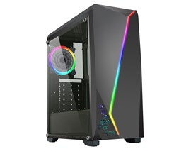 CiT C6063 Gaming Case - Black