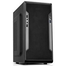 CiT Barricade Black Midi Tower Case