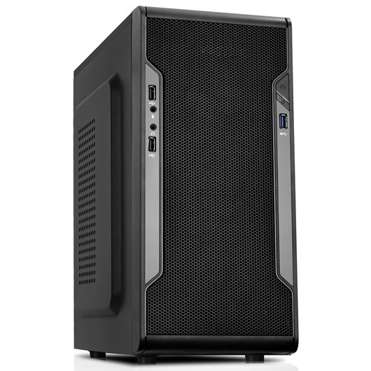CiT Barricade Midi Tower Case - Black