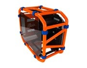Inwin D-Frame Mini Gaming Orange ITX Case