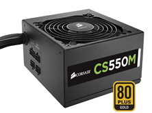 Corsair CS550M 550W Modular 80+ Gold PSU