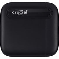 Crucial X6 4TB Mobile External Solid State Drive in Black - USB3.1