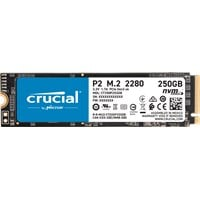 Crucial P2 M.2-2280 250GB PCI Express 3.0 x4 NVMe Solid State Drive