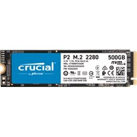 Crucial P2 M.2-2280 500GB PCI Express 3.0 x4 NVMe Solid State Drive