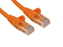 0.5m CAT6 Patch Cable (Orange)