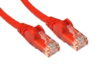 0.25m CAT 5E Moulded Patch Cable (Red)