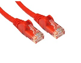 5m CAT5E Patch Cable (Red)