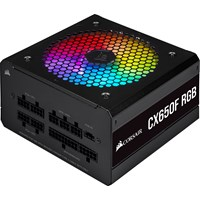 Corsair CX650F RGB 650W Modular Power Supply 80 Plus Bronze
