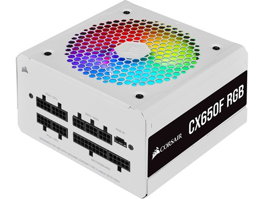 Corsair CX650F RGB 650W Modular 80+ Bronze PSU