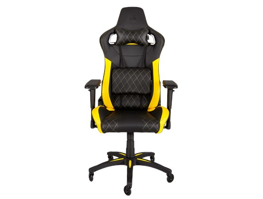Corsair T1 Gaming Chair (Black/Yellow)
