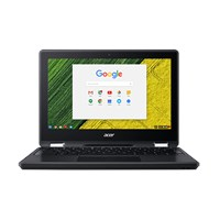 Acer Chromebook Spin 11 R751TN-C1Y9 - Flip design - Celeron N3350 / 1.1 GHz - Chrome OS - 4 GB RAM - 32 GB eMMC - 11.6 AHVA touchscreen 1366 x 768 (HD) - HD Graphics 500 - Wi-Fi, Bluetooth - obsidian black - kbd: UK