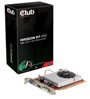 Club 3D Radeon R7 250 2GB Graphics Card DVI HDMI VGA