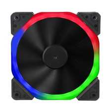 Generic Halo Dual Ring 120mm Fan with 18 RGB LEDs