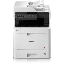 Brother DCP-L8410CDW (A4) Wireless Colour Laser All-in-One Printer (Print/Copy/Scan) 512MB 9.3cm Colour LCD 31ppm (Mono) 31ppm (Colour) 3,000 (MDC)