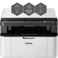 Brother DCP-1610W Mono Wireless Laser Printer