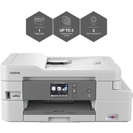 Brother DCP-J1100DW (A4) All-in-One Wireless Colour Inkjet Printer (Print/Copy/Scan) ALL IN BOX