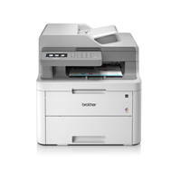 Brother DCP-L3550CDW 3-in-1 Colour Wireless Laser Printer with Touchscreen Display