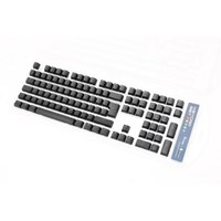 Ducky PBT Double-Shot Black Keycap Set for Backlit Keyboards