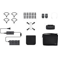 DJI Spark Quadcopter Mini Drone with Camera (Alpine White) Fly More Combo Pack